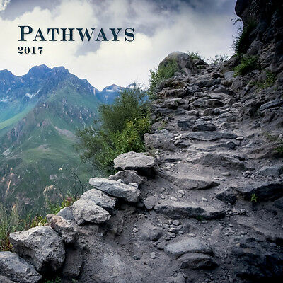 """Pathways 2017 Wall Calendar by Turner/Lang (12"""" x 24"""" when opened)"""