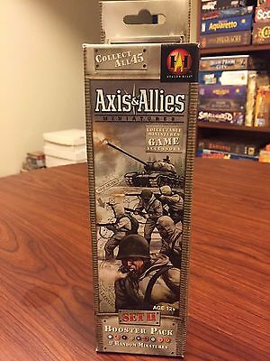 A&A Axis & Allies Miniatures Set II Booster NEW & SEALED Avalon WoTC Hasbro