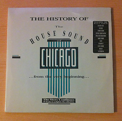 THE HISTORY OF THE HOUSE SOUND OF CHICAGO - Vinyl 3 LP, Compilation-1988 Germany