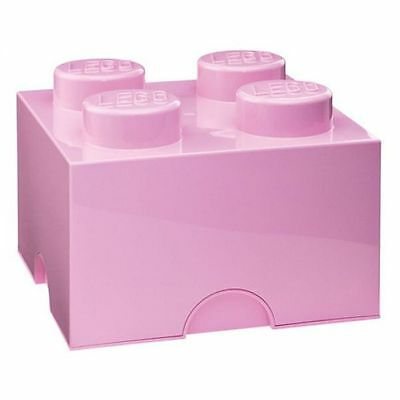 Lego Light Pink Kids Storage Box 4 Toys Games Kids Bedroom Playroom Free P+P