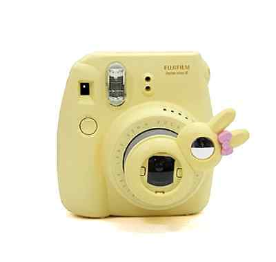 New Yellow Fujifilm Instax Mini 8 Selfie Lens Rabbit Bunny Style Close Up Mirror