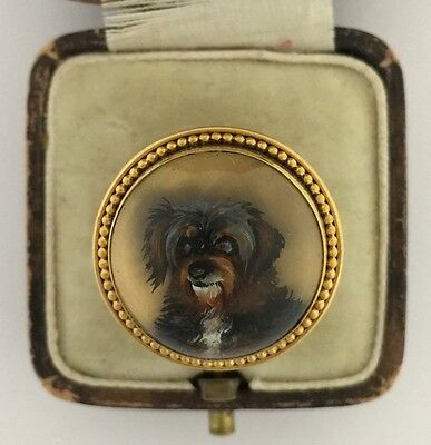 A Magnificent Terrier Essex Crystal Ring Circa 1800's
