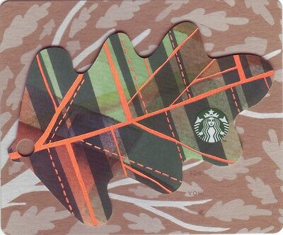 STARBUCKS Card from Germany | Autumn Mini Leave | 2016 | 1