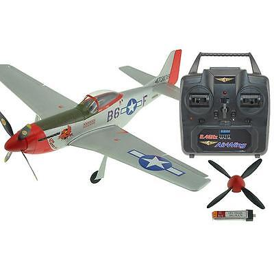 Airwing Micro P-51 Mustang Indoor / Parkflyer Mode 1 Rtf  AW-MUSTANG