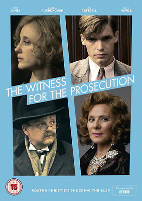 The Witness for the Prosecution DVD (2017) Toby Jones ***NEW***