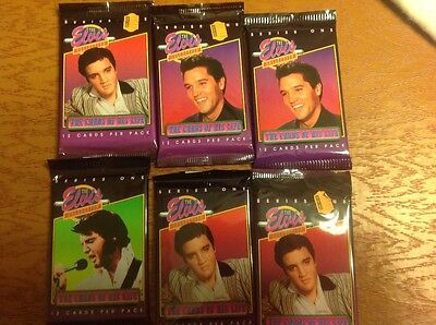 Series one the Elvis collection the cards of his life