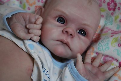 CUSTOM MADE NEWBORN! Reborn ooak doll life like vinyl art ARTIST Baby doll