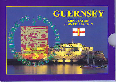 Guernsey 2003 Uncirculated Coin Collection