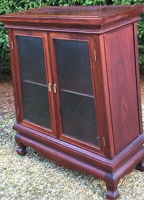 Fine Rosewood Chinese Drinks Display Cabinet- Delivery Service Available