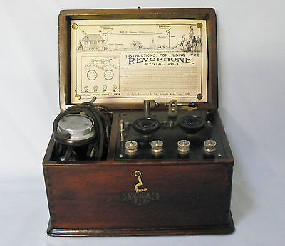 Revophone BBC Crystal Radio 1920s - Cable Accesories Co. Ltd