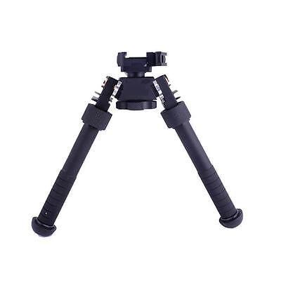 "Durable Tactical 4.75""-9"" QD Extendable Rifle Bipod Picatinny Rail Mount V8"