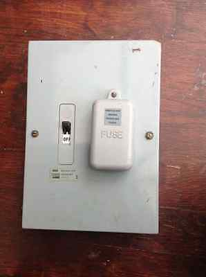 wylex 60 amp switched fuse unit
