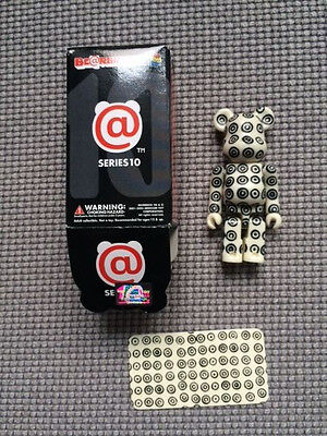 bearbrick be@rbrick commes des garcons series 10 secret rare 0.52% 1/192 medicom