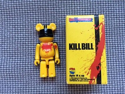 bearbrick be@rbrick 2 piece set kill bill murder bride / bride 100% rare