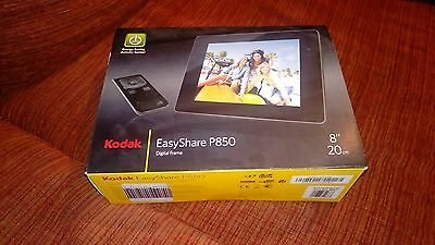 "Kodak EasyShare P850 digital photo frame cornice digitale 8"" nuovo"