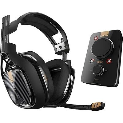 Astro Gaming A40 TR Headset + MixAmp Pro, schwarz (PS4, PS3, PC, MAC)NEUOVP