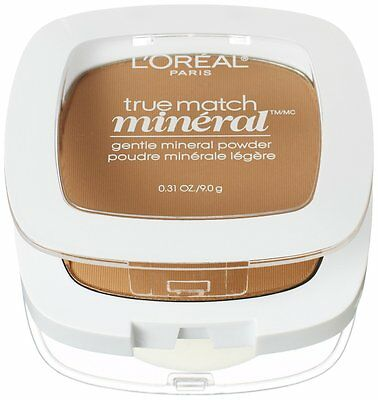 L'Oreal Paris True Match Mineral Pressed Powder, Classic Tan