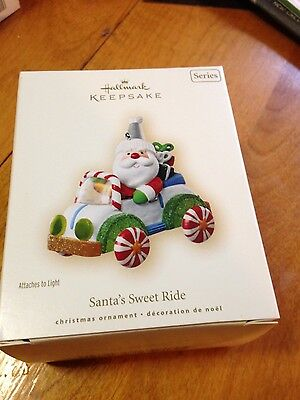 2007 Hallmark Santa's Sweet Ride Ornament