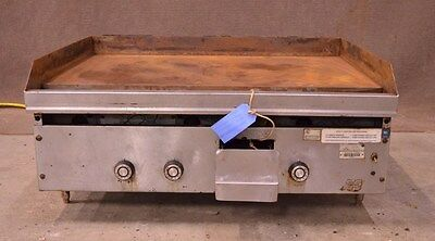 """36"""" Natural Gas Flat Top Griddle Grill Countertop Counter Top Commercial Kitchen"""