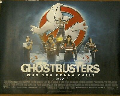 "GHOSTBUSTERS (2016) - ORIGINAL MOVIE POSTER Quad 40 x 30"" Poster"