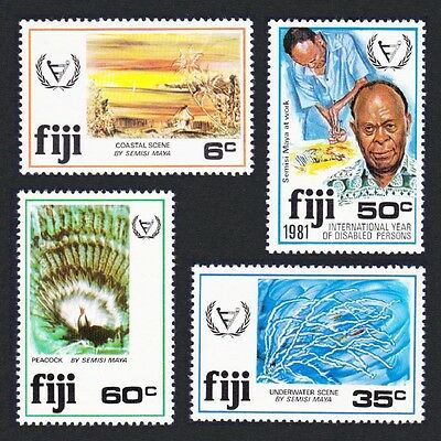 Fiji Year for Disabled Persons 4v SG#608/11 SC#438-441
