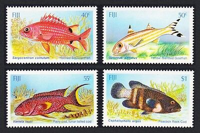 Fiji Shallow Water Fish 4v SG#706/09 SC#536-539
