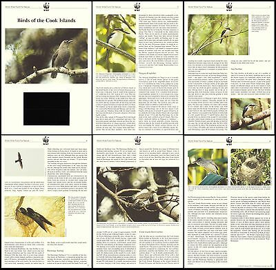 Cook Is. WWF Landbirds Info pages