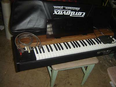 CORDOVOX ELECTRONIC PIANO mod P.P.23 & case & foot pedal NOT USED MUCH WORKING
