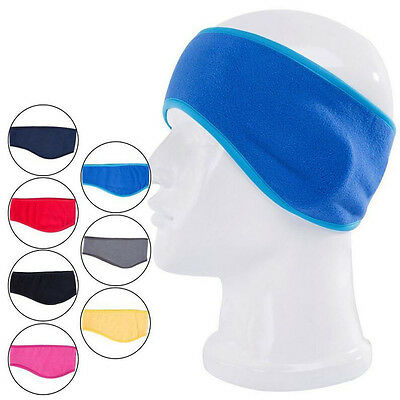 Winter Mens Womens Stretchy Headband Fleece Earband Ear Warmers Earmuffs