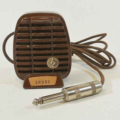 Vtg Shure CR-80D Controlled Reluctance Microphone 99H86 Element 1138 Ohm