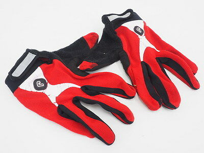 Jakaroo Mens Size Large MTB Mountain Bike Full Finger Cycling Bicycling Gloves