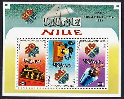 Niue Communications Year MS SG#MS526 SC#416a