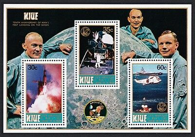 Niue 10th Anniversary of First Moon Landing MS SG#MS303 SC#257a