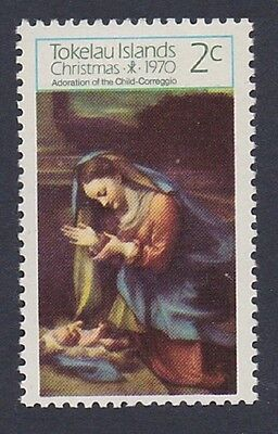 Tokelau Christmas issue 1970 1v SG#21 SC#21