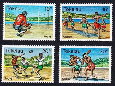 Tokelau Local Sports 4v SG#69/72 SC#69-72