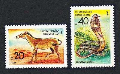 Turkmenistan Cobra Asiatic Wild Ass 1v SG#2-3