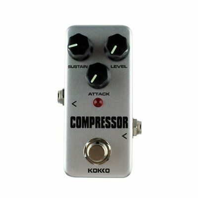 Aluminum Alloy FCP2 Mini Compressor Pedal Guitar Musical Instruments Effects PC