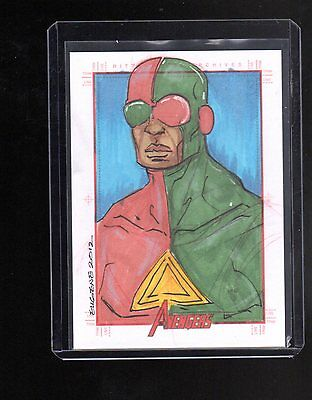 2012 Marvel Greatest Heroes not sure sketch card