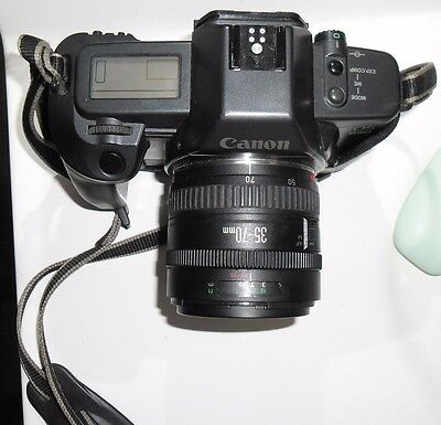 Canon Slr Eos 630 With Lenses Very Collectable Selling Cause I Am Not Collector