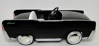 Pedal Car Lincoln Mercury Ford 1960s Rare Sport Vintage Classic Midget Model