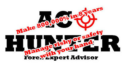 Achunter Forex Ea Over 8 Years Backtest Make 800,000% From 50$