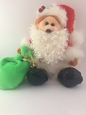 Santa Paws The Bear [Special Edition] - Rare Christmas Retired Beanie Kid