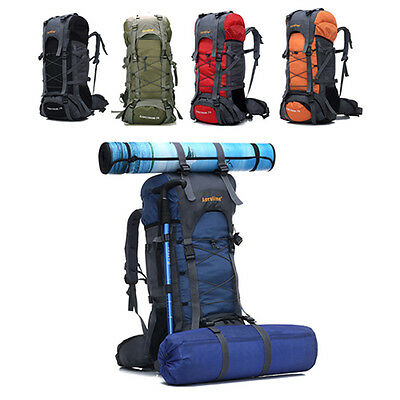 New Hiking Camping Travel Military Rucksack Extra Large Internal Frame Backpack
