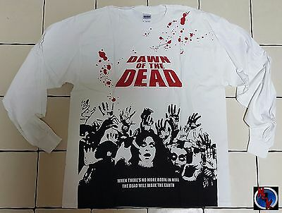 Langarm Shirt - DAWN of the DEAD - withe - beidseitiger Druck