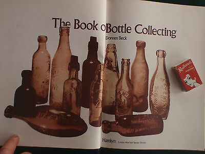 Bottle collecting  book  illustrated;D.Beck 1974