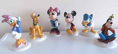ROYAL DOULTON MICKEY MOUSE COLLECTION 70th ANNIVERSARY BOXED SET OF 6