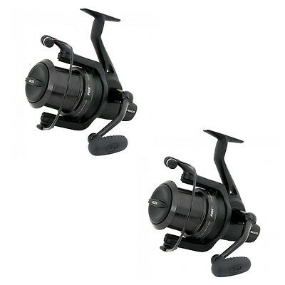 Fox NEW EOS 12000 Carp Fishing Big Pit Reel x2 - CRL074
