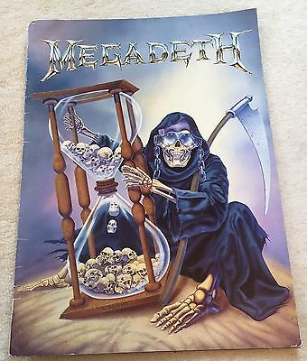 Megadeth Discography UK Tour Program