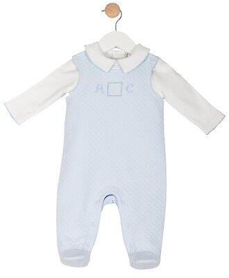 Baby Boys Dungaree Overalls & Top Outfit Set Romany Spanish Style by Mintini