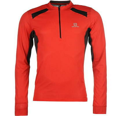 Salomon Fastwing Long Sleeve Running Top Mens size M